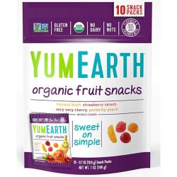YumEarth, Organic Fruit Snacks, Original , 10 Packs, 0.7 oz (19.8 g) Each Biografie, wspomnienia