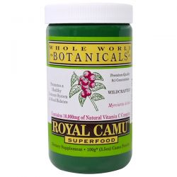 Whole World Botanicals, Royal Camu Powder, 3.5 oz (100 g) Biografie, wspomnienia
