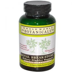 Whole World Botanicals, Royal Break-Stone, Kidney-Bladder Support, 400 mg, 120 Vegetarian Capsules Biografie, wspomnienia