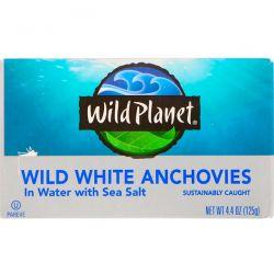 Wild Planet, Wild White Anchovies in Water With Sea Salt, 4.4 oz (125 g) Biografie, wspomnienia