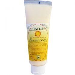 Tate's, The Natural Miracle Sunscreen, SPF 30, 4 fl oz Biografie, wspomnienia