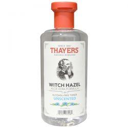 Thayers, Witch Hazel, Aloe Vera Formula, Alcohol Free Toner, Unscented , 12 fl oz (355 ml) Biografie, wspomnienia
