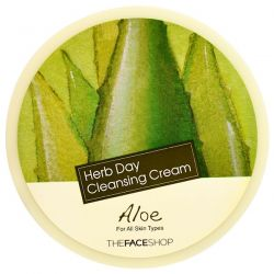 The Face Shop, Herb Day Cleansing Cream, Aloe, 5 oz (150 ml)