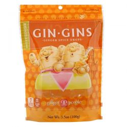 The Ginger People, Gin Gins, Ginger Spice Drops, Sweet Ginger, 3.5 oz (100 g) Biografie, wspomnienia