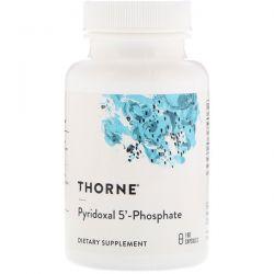 Thorne Research, Pyridoxal 5'-Phosphate, 180 Capsules Biografie, wspomnienia