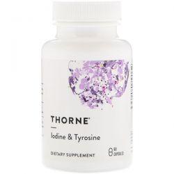 Thorne Research, Iodine & Tyrosine, 60 Capsules Biografie, wspomnienia