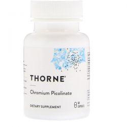 Thorne Research, Chromium Picolinate, 60 Capsules Biografie, wspomnienia