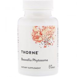 Thorne Research, Boswellia Phytosome, 60 Capsules