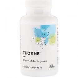 Thorne Research, Heavy Metal Support, 120 Capsules Biografie, wspomnienia