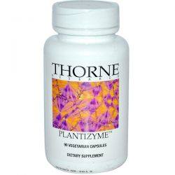 Thorne Research, Plantizyme, 90 Vegetarian Capsules