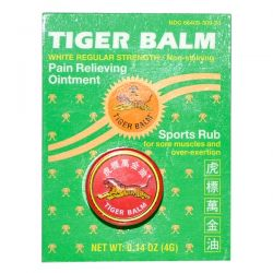 Tiger Balm, Pain Relieving Ointment, White Regular Strength, 0.14 oz (4 g) Biografie, wspomnienia
