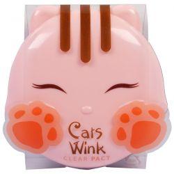 Tony Moly, Cat's Wink, Clear Pact, Light Beige, .38 oz (11 g) Pozostałe