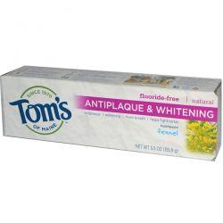 Tom's of Maine, Natural Antiplaque & Whitening Toothpaste, Fluoride-Free, Fennel, 5.5 oz (155.9 g) Biografie, wspomnienia