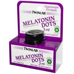 Twinlab, Melatonin Dots, 3 mg, 60 Tablets Biografie, wspomnienia