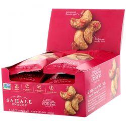 Sahale Snacks, Pomegranate Vanilla Flavored Cashews, Glazed Mix, 9 Packs, 1.5 oz (42.5 g) Each Biografie, wspomnienia