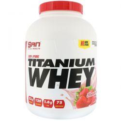 SAN Nutrition, 100% Pure Titanium Whey, Strawberry, 5 lb (2273 g) Biografie, wspomnienia