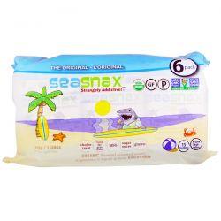 SeaSnax, Organic Roasted Seaweed Snack, 6 Pack 0.18 oz (5 g) Each Biografie, wspomnienia