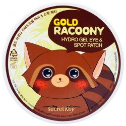 Secret Key, Gold Racoony Hydro Gel Eye & Spot Patch, 90 Pieces