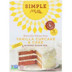 Simple Mills, Naturally Gluten-Free, Almond Flour Mix, Vanilla Cupcake & Cake , 11.5 oz (327 g) Biografie, wspomnienia