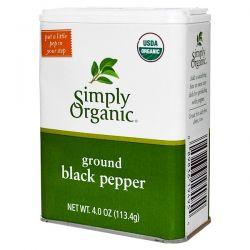 Simply Organic, Ground Black Pepper, 4 oz (113.4 g) Biografie, wspomnienia
