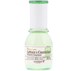 Skinfood, Lettuce & Cucumber Watery Essence, 1.69 fl oz (50 ml)