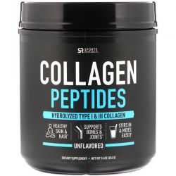 Sports Research, Collagen Peptides, Unflavored, 16 oz (454 g) Biografie, wspomnienia