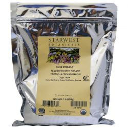 Starwest Botanicals, Fenugreek Seed Organic, 1 lb (453.6 g) Biografie, wspomnienia
