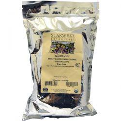 Starwest Botanicals, Barley Grass Powder, Organic, 1 lb (453.6 g) Pozostałe