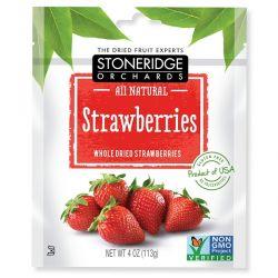 Stoneridge Orchards, Strawberries, Whole Dried Strawberries, 4 oz (113 g) Biografie, wspomnienia