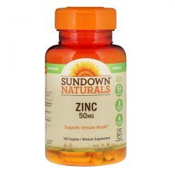 Sundown Naturals, Zinc, 50 mg, 100 Caplets Biografie, wspomnienia