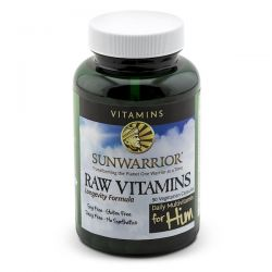 Sunwarrior, Raw Vitamins, Daily Multivitamin for Him, 90 Veggie Caps Zdrowie i Uroda