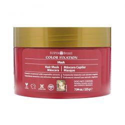 Surya Henna, Color Fixation - Restorative Hair Mask, 7.6 fl oz (225 g) Zdrowie i Uroda