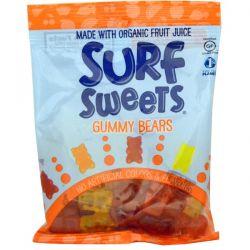SurfSweets, Gummy Bears, 2.75 oz (78 g) Zdrowie i Uroda