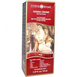 Surya Henna, Henna Cream, Hair Color & Conditioner Treatment, Red, 2.37 fl oz (70 ml) Biografie, wspomnienia