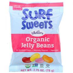 SurfSweets, Organic Jelly Beans, 2.75 oz (78 g) Zdrowie i Uroda