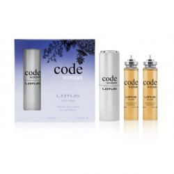 Lotus code woman 3x20ml typ Armani Code Woman