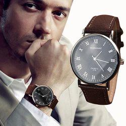 Męski Kwarcowy Zegarek Na Rękę sanwood