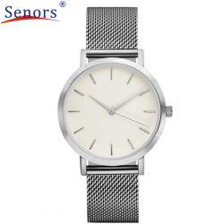 Kwarcowy zegarek na rękę Senors srebrny