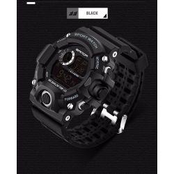 Zegarek SPORT WATCH typ S-SHOCK czarny