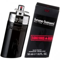 Bruno Banani, DANGEROUS MAN EDT 50ml