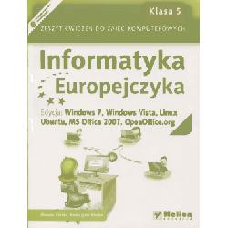 Informatyka Europejczyka SP kl.5 ćwiczenia