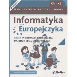 Informatyka Europejczyka SP kl.5 ćwiczenia XP