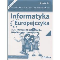 Informatyka Europejczyka SP kl. 6 ćwiczenia