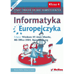 Informatyka Europejczyka kl.4 ćwiczenia Windows XP