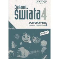 Matematyka Ciekawi świata SP kl.4 ćwiczenia cz.1