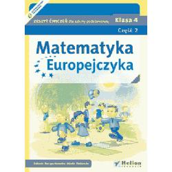 Matematyka Europejczyka SP kl.4 ćwiczenia cz.2