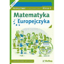 Matematyka Europejczyka SP kl.4 podręcznik