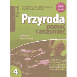 Przyroda poznać i zrozumieć SP kl.4 podręcznik