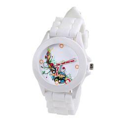 Damski zegarek kwarcowy Geneva White