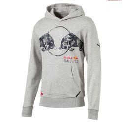 PUMA Red Bull Racing BLUZA Z KAPTUREM MĘSKA roz M